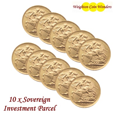 10 x SOVEREIGNS - Investment Parcel