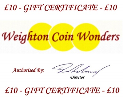 Gift Certificate - £10.00