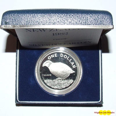 Silver Proof COLONIAL