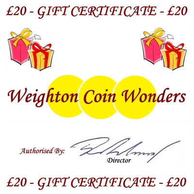Gift Certificate - £20.00