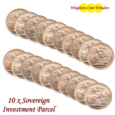 20 x SOVEREIGNS - Investment Parcel