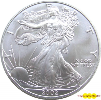 10 x USA 1oz Silver EAGLE - Date Our Choice