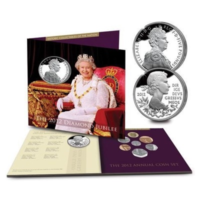 2012 Brilliant Uncirculated Coin Set - 2012 Diamond Jubilee