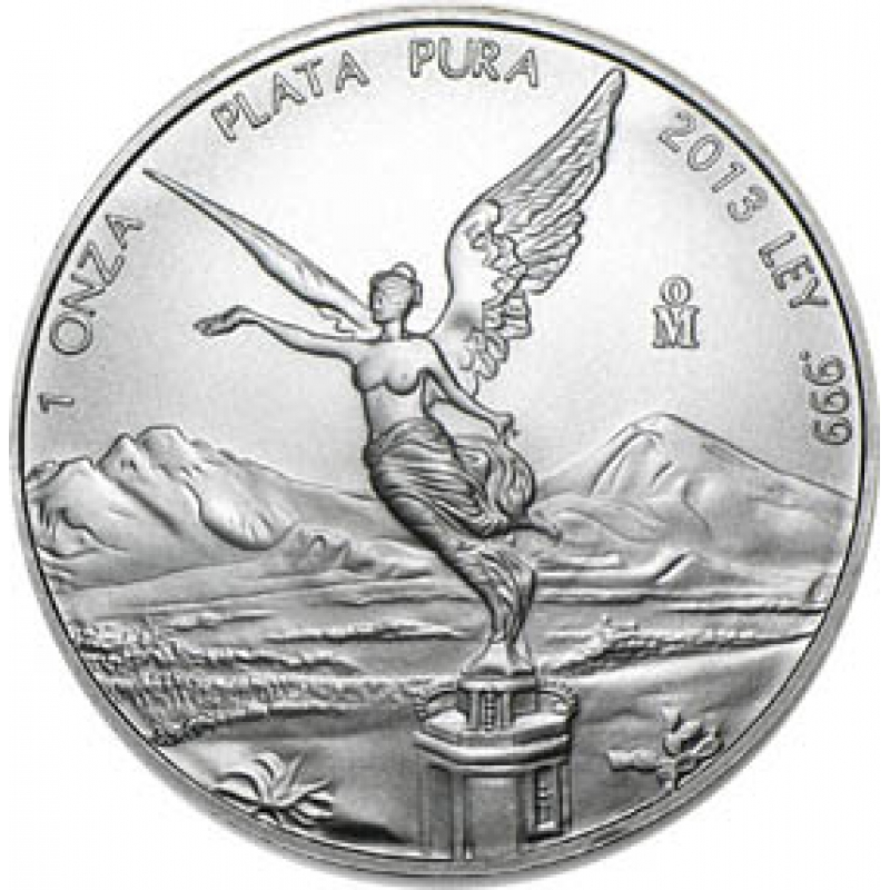 10 x 2013 1oz Silver LIBERTAD - Now In Stock