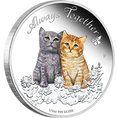 2015 1/2OZ Silver Proof Coin - ALWAYS TOGETHER