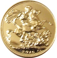 10 x 2015 Gold SOVEREIGN - Available to Order