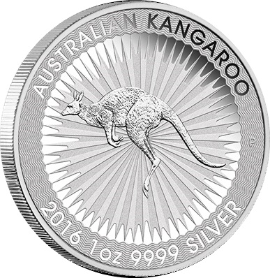 5 x 2016 Silver 1oz KANGAROO - 1st Year of Issue