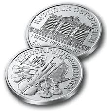 10 x 2015 1oz Silver PHILHARMONIC - NOW IN STOCK