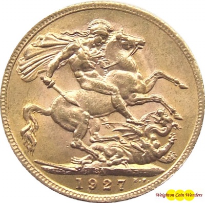 1927 GEORGE V (Pretoria) Gold Sovereign