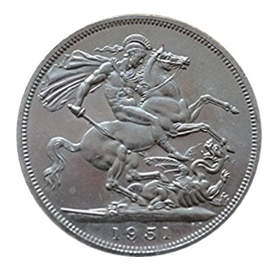 1951 5 Shillings - Festival of Britain Crown