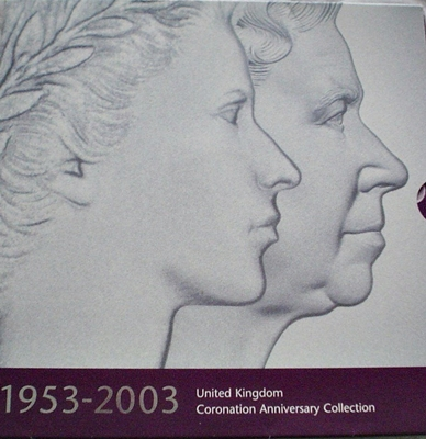 1953-2003 UK BU Coronation Anniversary Collection