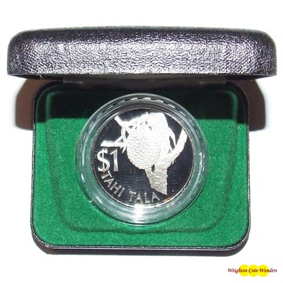1978 Tokelau Silver Proof $1