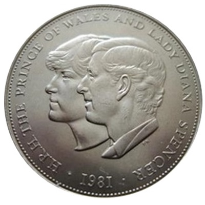1981 £5 – Marriage of Charles & Diana