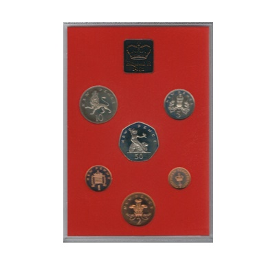 1981 Royal Mint Proof Coin Collection