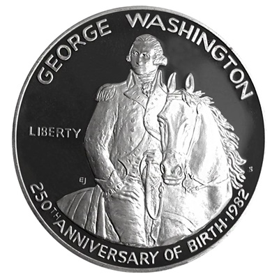 1982 George Washington 250th Anniversary Silver Proof Half $