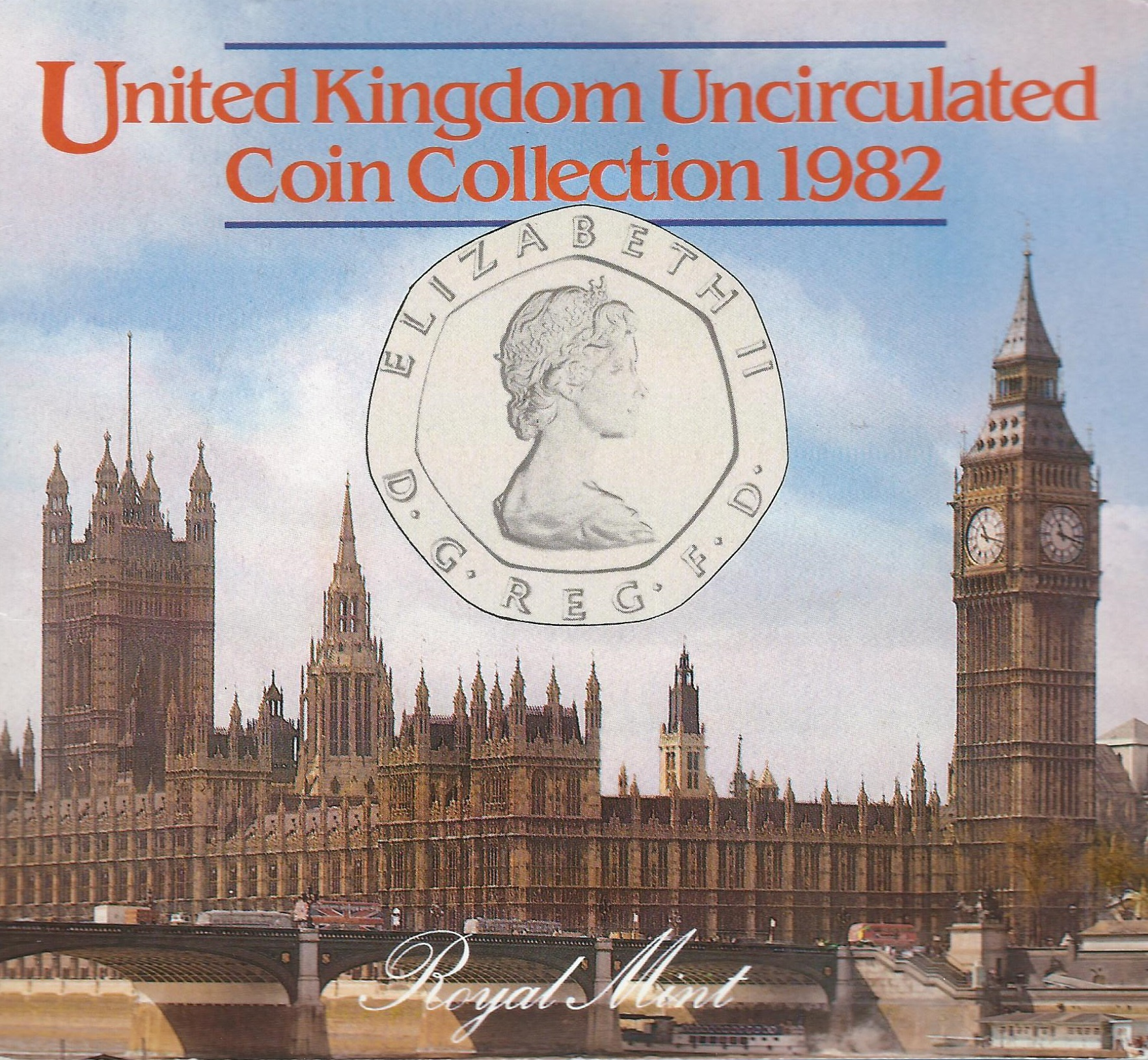 1982 Uncirculated Year Set