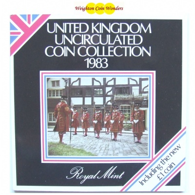 1983 Brilliant Uncirculated Coin Set
