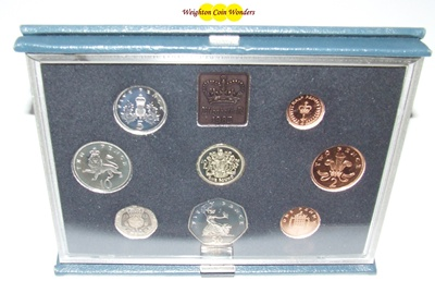 1983 Royal Mint Standard Proof Set