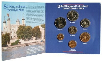 1983 Brilliant Uncirculated Coin Set - H J Heinz Company
