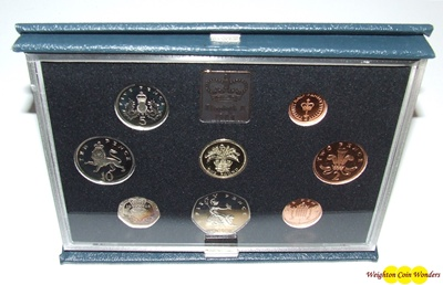 1984 Royal Mint Standard Proof Set