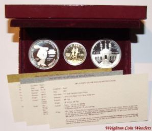 1984 USA Gold & Silver Set - Olympics