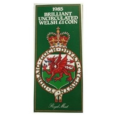 1985 BU Welsh £1 Coin – Presentation Pack