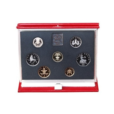 1985 Royal Mint Deluxe Proof Set