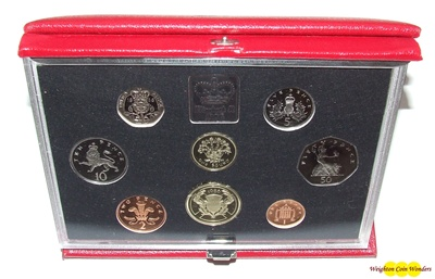 1986 Royal Mint Deluxe Proof Set
