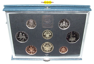1986 Royal Mint Standard Proof Set