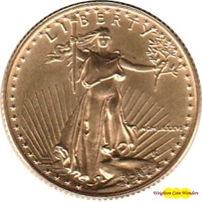 1986 1/4oz Gold EAGLE