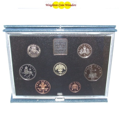 1987 Royal Mint Standard Proof Set