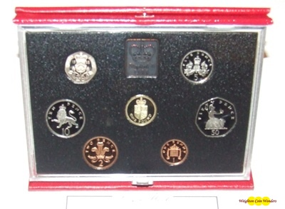 1988 Royal Mint Deluxe Proof Set