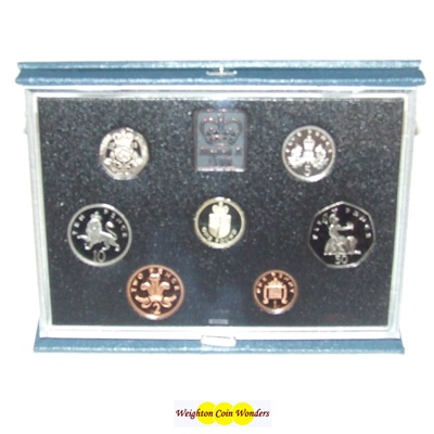 1988 Royal Mint Standard Proof Set