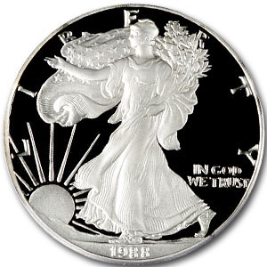 1988 USA 1oz Silver Proof EAGLE