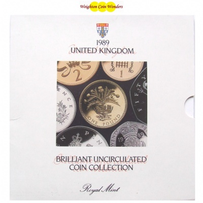 1989 Brilliant Uncirculated Coin Set