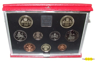 1989 Royal Mint Deluxe Proof Set