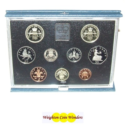 1989 Royal Mint Standard Proof Set