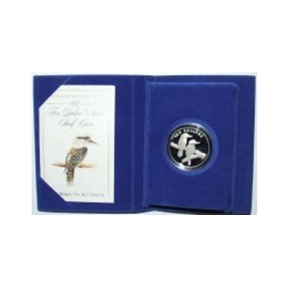 1989 $10 Silver Proof - The Kookaburra