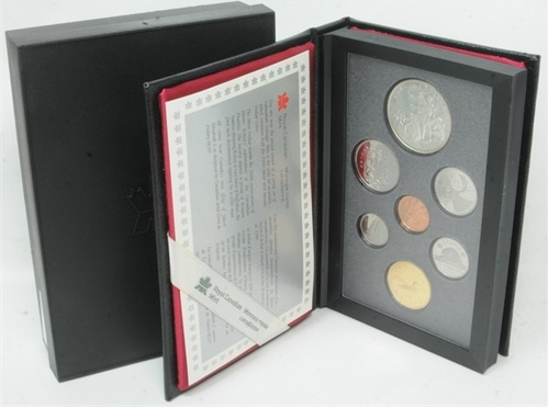 1990 RCM Proof Set - Henry Kelsey