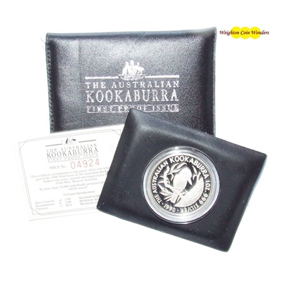 1990 1oz Kookaburra - First Proof Issue