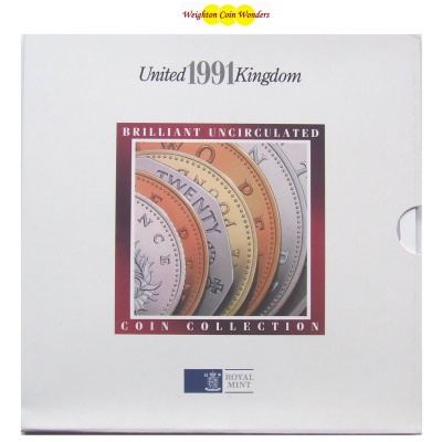 1991 Brilliant Uncirculated Coin Set