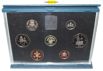 1991 Royal Mint Standard Proof Set