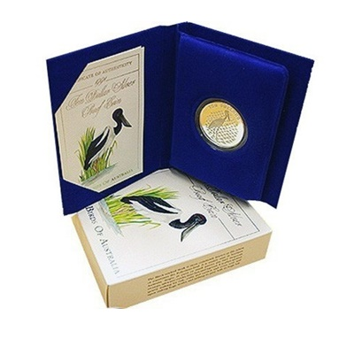 1991 $10 Silver Proof - The Jabiru