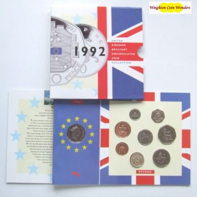 1992 Brilliant Uncirculated Coin Set