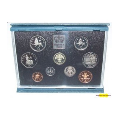1992 Royal Mint Standard Proof Set