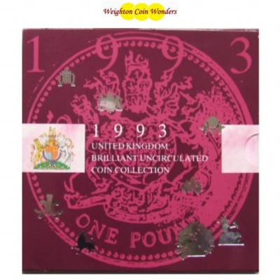 1993 Brilliant Uncirculated Coin Set