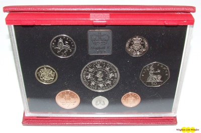 1993 Royal Mint Deluxe Proof Set