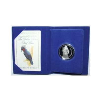 1993 $10 Silver Proof - Palm Cockatoo