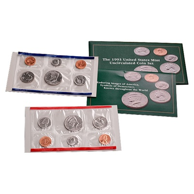 1993 United States Mint Uncirculated Coin Set (P & D)