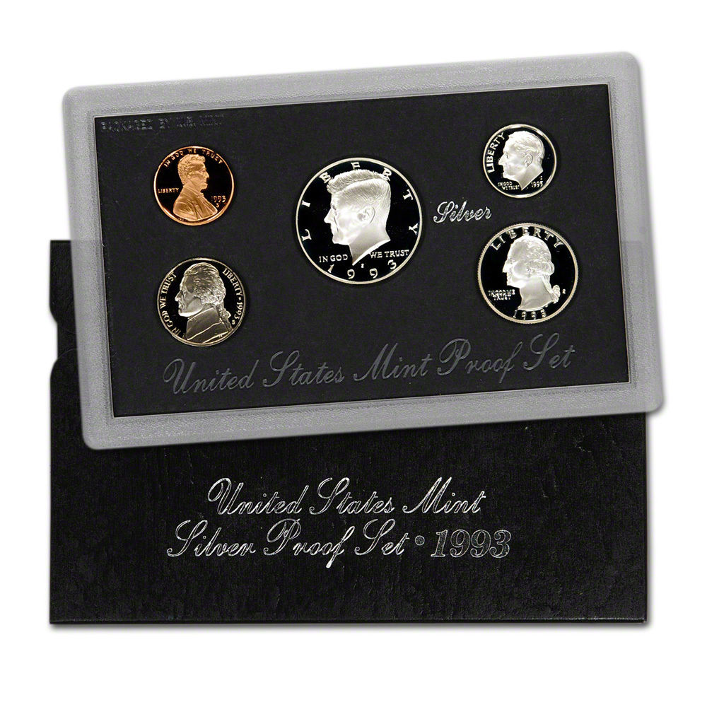 1993 United States Silver Proof Set